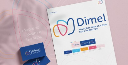 Dimel lança nova marca gráfica e slogan