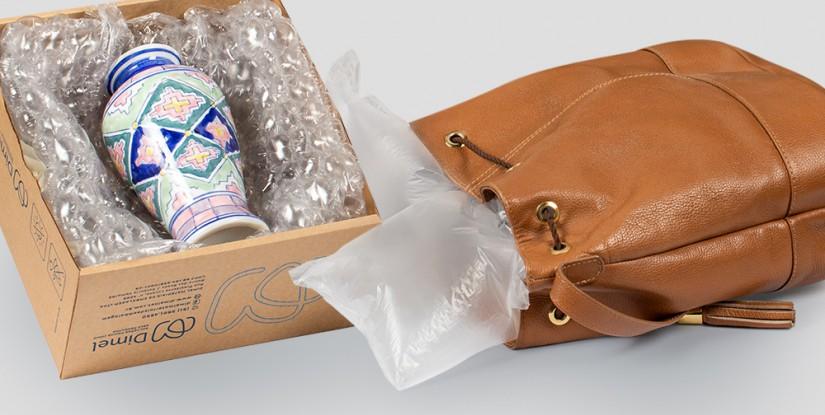Linha Air da Dimel garante o melhor em embalagens de proteção e preenchimento